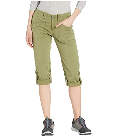 Aventura Clothing Arden V2 Capris (Olivine) Women