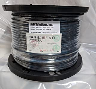 Belden 1694A RG-6/U Coaxial Cable for Audio and Video 18 AWG Copper Conductor 75 Ohm 500 ft. USA