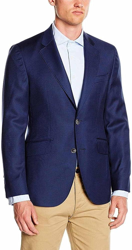 Hackett London Navy 120S Blazer Sp - Americana para hombre, color Azul Marino