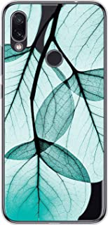 Suhctup Compatible con Xiaomi Redmi Note 6 Funda Flor de TPU Transparente Diseño de Flores Patrón Cárcasa Ultra Fina Suave...