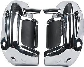 XMT-MOTO Lower Vented Leg Fairing Glove Box fits for Harley-Davidson Touring Models(Chrome)