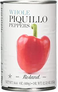 Roland Piquillo Peppers, Whole, 14.4 Ounce (Pack of 4)