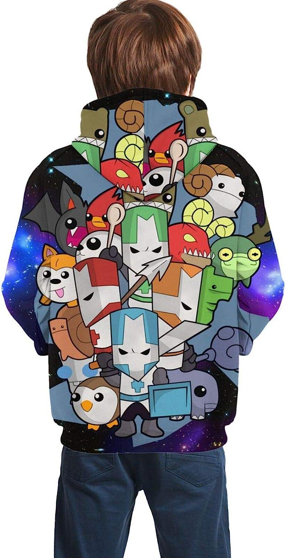 Unisex Top Castle-Crashers Hoodies Youth Sweatshirt Fashion 3D Printed