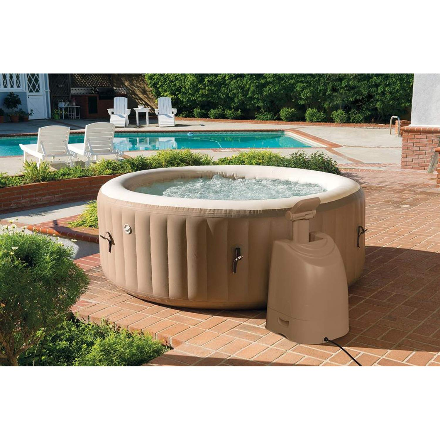 Intex SPA Hinchable Redondo – 6 plazas: Amazon.es: Jardín