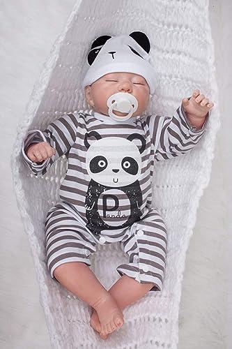 Entrega gratuita y rápida disponible. ZIYIUI 22 Pulgadas   55 55 55 cm Recién Nacido Realista Juguete Imán Chupete Verdadero Aspecto Real Touch Vinilo Suave Silicona Vida como Reborn Baby Doll  ordenar ahora