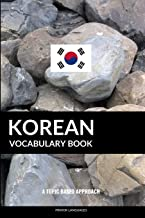 Korean Vocabulary Book: A Topic Based Approach