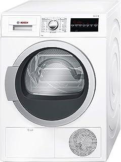 Bosch 9 Kg Condenser type Tumble Dryer, White - WTG86401GC, 1 Year Warranty