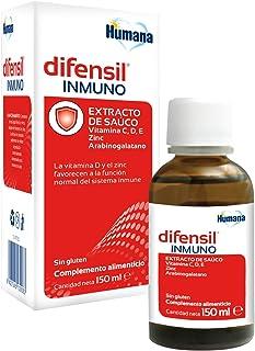 DIFENSIL® INMUNO. Complemento Alimenticio con Vitamina C. D y Zinc que favorecen a la función normal