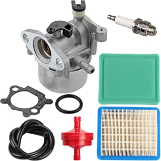 799866 790845 Carburetor + 491588S Air Filter Tune Up Kit for Briggs and Stratton 675 675ex 725ex Series Engine 799871 796707 794304