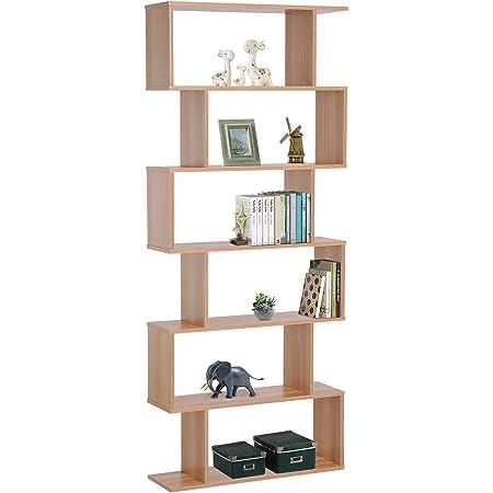 Etnicart - Librería estantería color roble oficina moderna ...