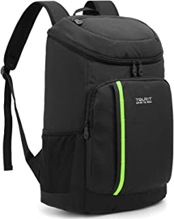 black cooler backpack