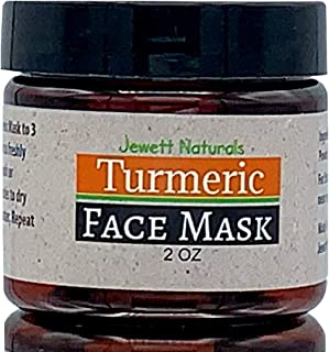 Turmeric Face Mask For Hyperpigmentation and Dark Spots. Also Great For Acne, Anti Aging, Wrinkles, Blackheads, Pimples, Whiteheads, DIY, Clay, Bentonite, Vegan