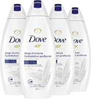 Dove Body Wash with skin natural nourishers Deep Moisture body cleanser for instantly soft skin and lasting nourishment...