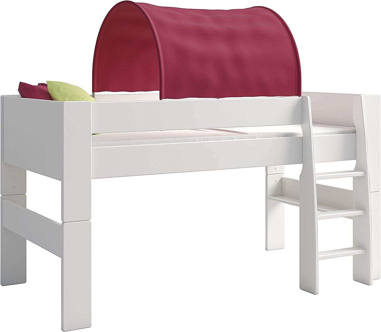 Steens For Kids Tunnelzelt für Kinderbett, Hochbett, 88 x 69 x 91 cm (B H T), Baumwolle, lila