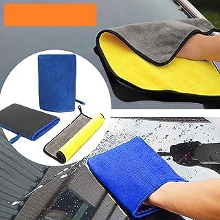 bangminda Auto Waschhandschuhe Reinigungsknete + Mikrofaser Handschuhe, Handschu mit Feiner Tonerde Beschichtung für Autowäsche Waschen und Vorbereiten der Oberfläche vor dem Verzieren