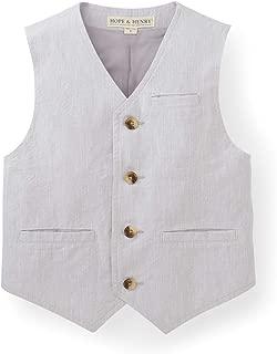 Boys Linen Suit Vest