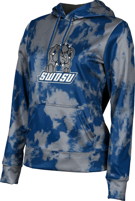ProSphere Southwestern Oklahoma State University Girls' Pullover Hoodie, School Spirit Sweatshirt (Grunge)
