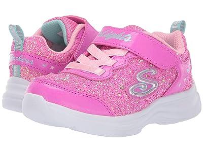 SKECHERS KIDS Glimmer Kicks 20267N (Toddler) (Hot Pink/Pink) Girl