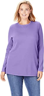 Women's Plus Size Thermal Sweatshirt