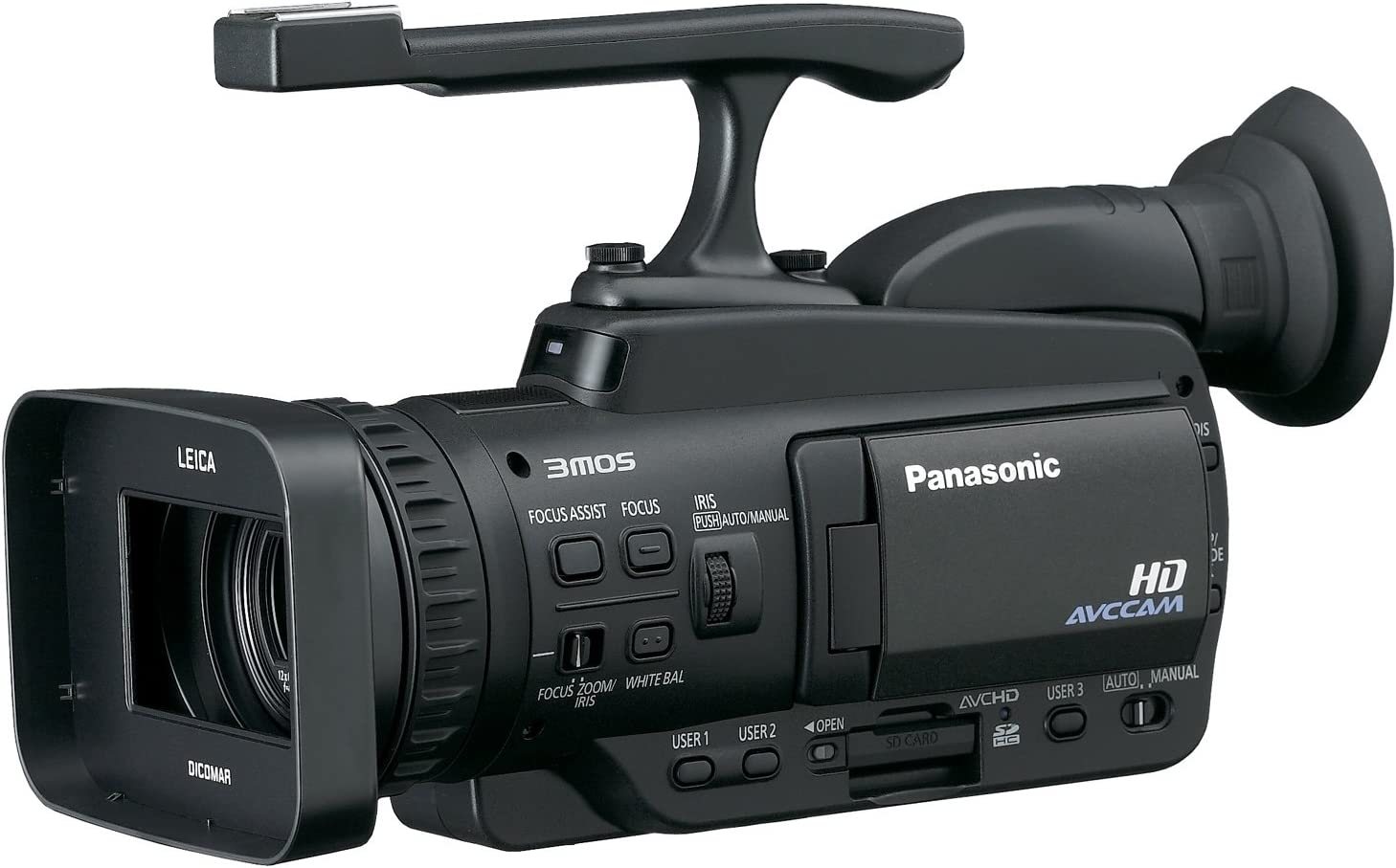 Amazon Com Panasonic Professional Ag Hmc40 Avchd Videocamara Con 10 6 Mp Todavia Y 12 X Zoom Optico Camera Photo