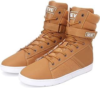 SEVE Men's High Top Lifting Shoes Squat Deadlift Shoes Powerlifting Weightlifting Shoes Gym Sneakers