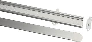 Gardinia 10010971 - Rieles para Paneles japoneses (60 cm, Incluye pletinas), Color Plateado