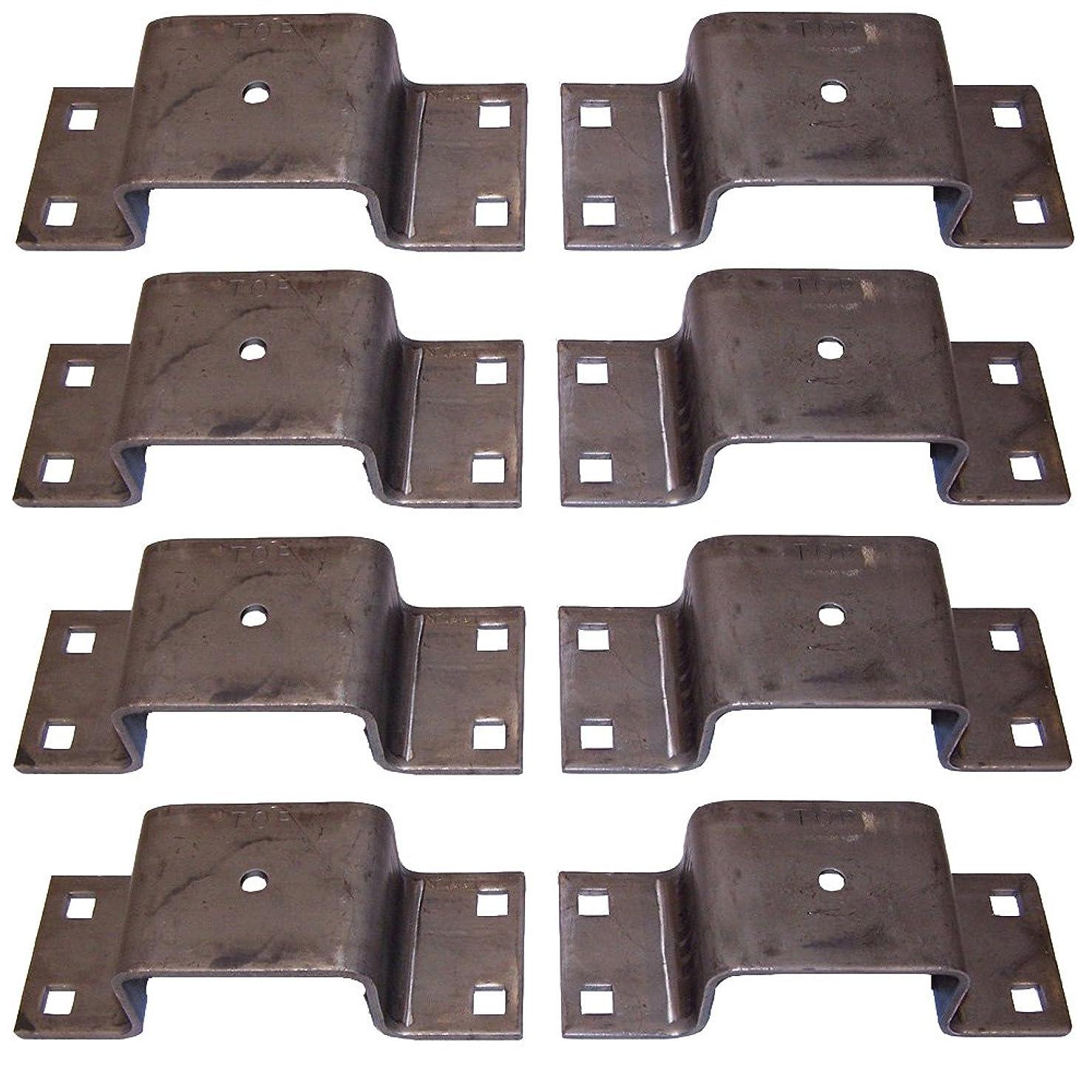 (8) 10.5 Gauge Bolt-On Tapered Stake Pocket for Trucks/Trailers/Board Holders