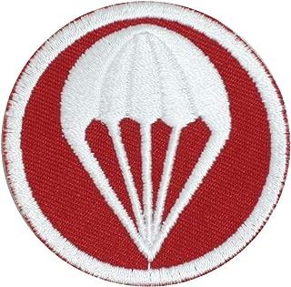 Epic Militaria Replica US Artillery Paratroopers Garrison Cap Badge - Red