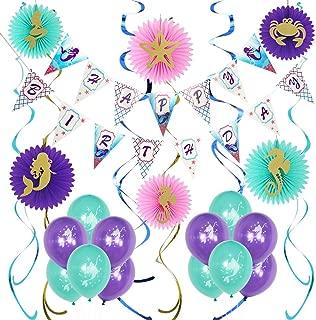 Lavagh Mermaid Party Supplies - Mermaid Birthday Party Supplies - Mermaid Party Decorations - Girls Birthday Party Supplies