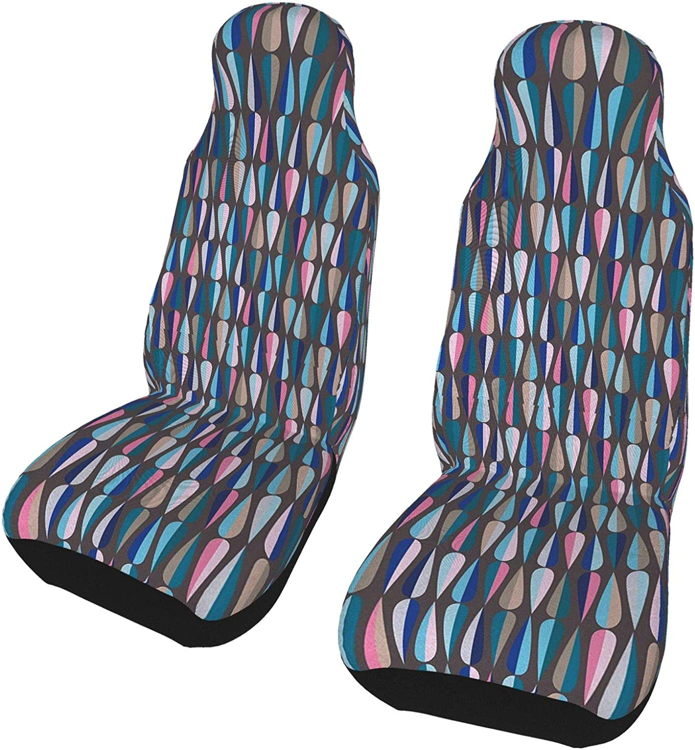 REDDATES Droplet Shapes Mosaic Ranking TOP6 in Seat Tones Car Front Las Vegas Mall Cover