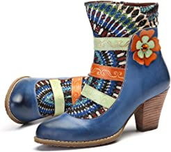 Amazon.es: botas altas tacon - Azul