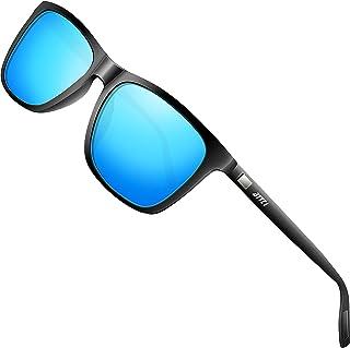 ATTCL - Gafas de sol polarizadas Hombres Mujeres Marco de metal Gafas de sol de conducción
