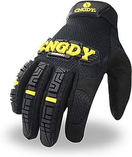 CNGDY Safety Work Gloves,Anti-Impact Light Duty Work Gloves Mechanics Safety Rescue Equipment...
