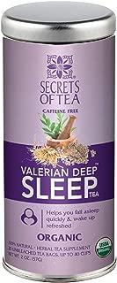 Secrets Of Tea (Valerian Deep Sleep Tea)