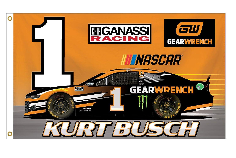 Kurt Busch #1 NASCAR Cup Series 3x5 Flag New for 2021