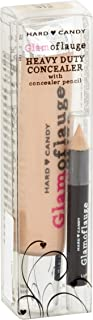 Hard Candy Glamoflauge HEAVY DUTY CONCEALER with pencil (LIGHT color)