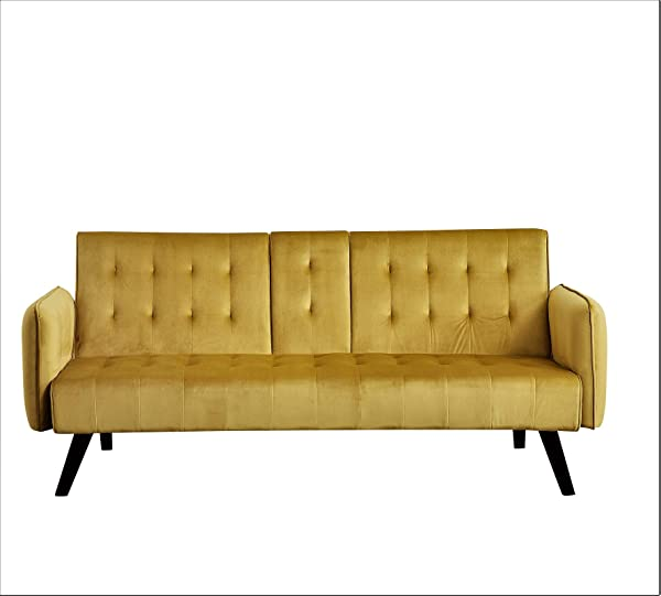 Container Furniture Direct SB9065 Cricklade Sofabed Gold