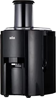 Braun Multiquick 3 Spin Juicer, Black, J300