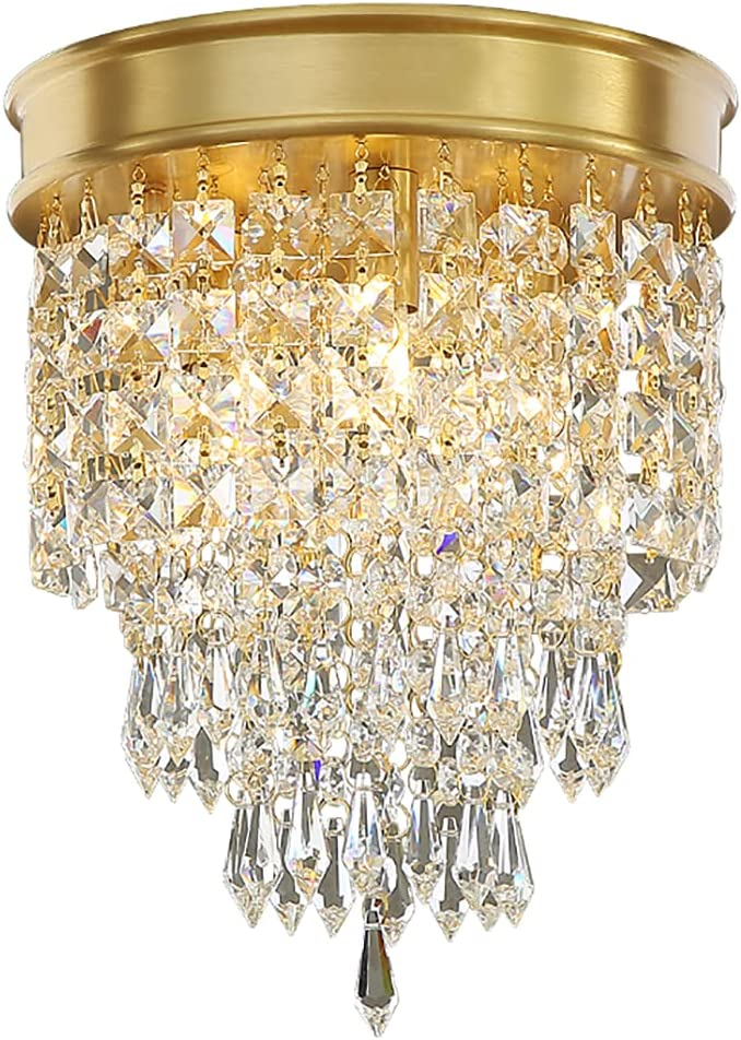 free shipping Crystal Chandelier Mini Copper 67% OFF of fixed price Ligh Modern