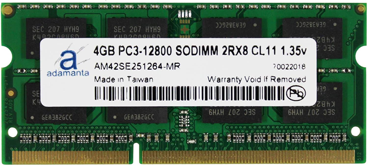 Adamanta 4GB 1x4GB Ranking TOP16 Laptop Memory Compatible Upgrade for Lenovo Fort Worth Mall
