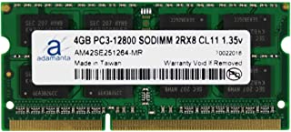 Adamanta 4GB (1x4GB) Laptop Memory Upgrade Compatible for Dell Alienware, Inspiron, Latitude, Optiplex, Precision, Vostro ...