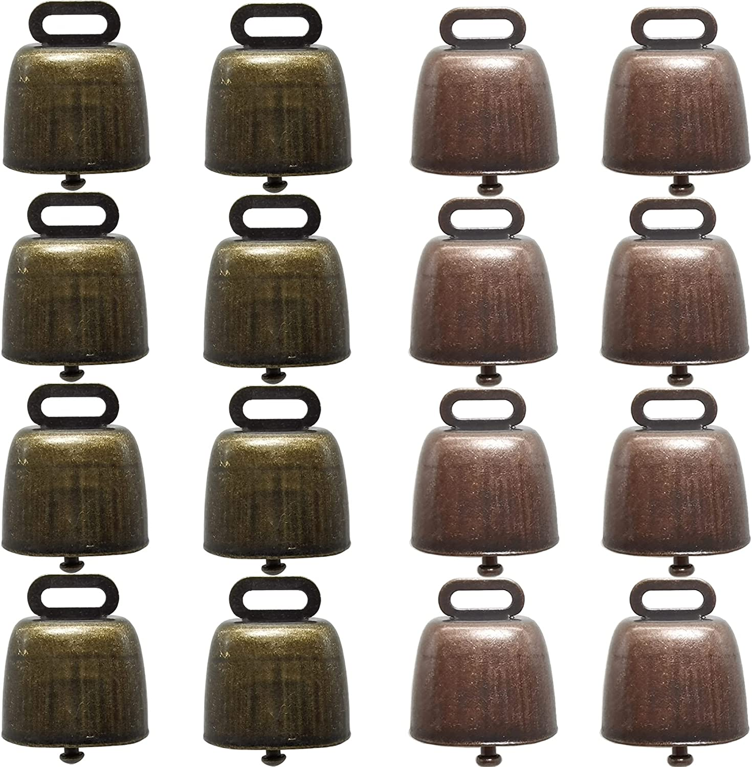 YOOHUA 16PCS Cow Horse Industry No. 1 Sheep Grazing Bells Be online shopping Copper Brass Small