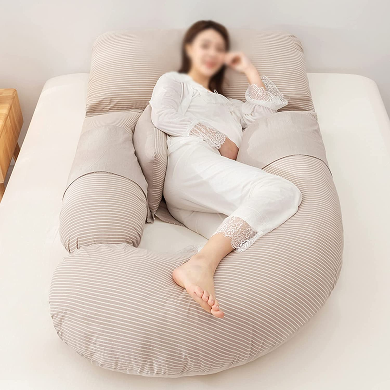 DUOLAEM Al sold out. Latest item Pillow for Pregnant Women High Side Suppo Waist