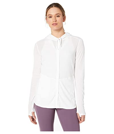ExOfficio BugsAway(r) Lumen Full Zip Hoodie (White) Women
