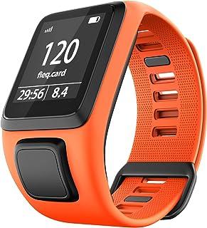 Shieranlee Watchband para Tomtom Watch, Silicone Waterproof