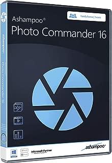 Photo Commander 16 - Photo Editing & Graphic Design Software for Windows 10, 8.1, 7 - 3 USER license