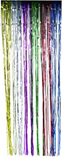 Fun Express Metallic Rainbow Fringe Curtains for Party (1 Piece) Party Decor - Door Decor - Door Borders & Curtains