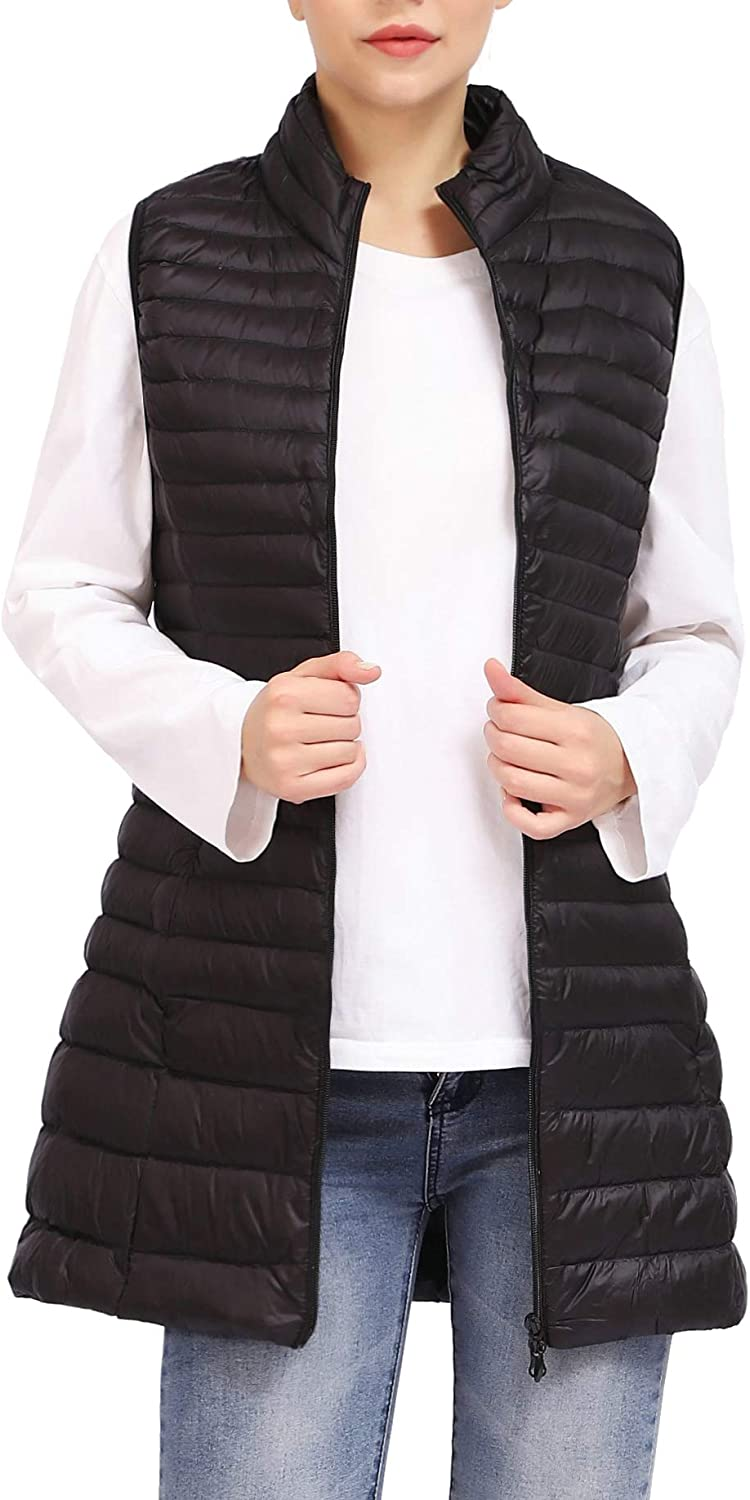 A surprise price is realized ELFJOY Women's Ultra All items free shipping Light Long Vest Down