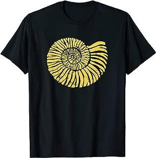 Vintage Fossil Hunter Prehistoric Ammonoidea T-Shirt