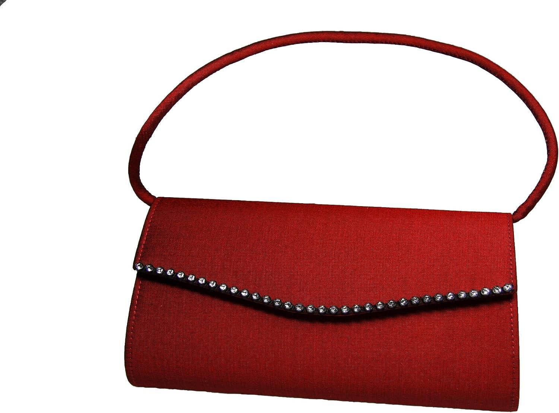 a8d50ac34529c LAQ Design - Handtasche Handtasche Handtasche Seide f. OPER Theater Ball  18x9x5 cm (B x H x T) B00O2520IY Feinbearbeitung 125077